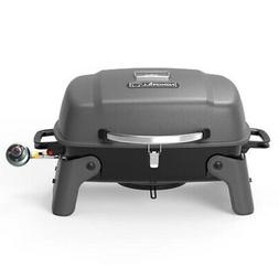 1-Burner Portable Propane Gas Table Top Grill in Black