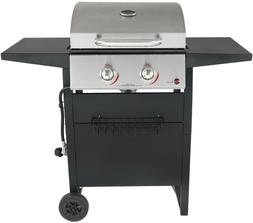 RevoAce 2-Burner LP Gas Grill with Stainless Steel BBQ Grill