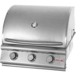 """25"""" 3-Burner Built-In Gas Grill Gas Type: Natural"""