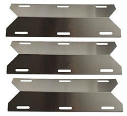 3 Pack Stainless Steel Replacement Heat Plate BBQ Gas Grill