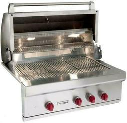 """Wolf 36"""" Built-in Outdoor Stainless Nat Gas Rotisserie Grill"""