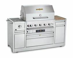 Crown Verity 36'' Hotel Series Grill Island Grill - Natural