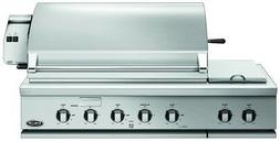 DCS 48 Inch Propane Gas Grill with Dual Side Burner and Roti