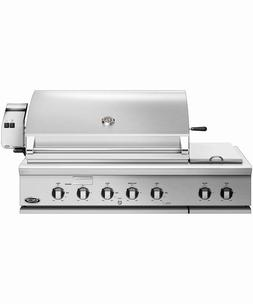 """48"""" DCS NATURAL GAS GRILL w/double side burner #BH148RSN WE"""