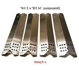 4pack Heat Plate Replacement Gas Grill Model Master Forge Or