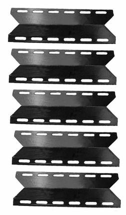5-Pack BBQ Gas Grill Porcelain Steel Burner Cover Replacemen