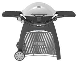Weber 57067001 Q3200 Natural Gas Grill, with Stainless Steel