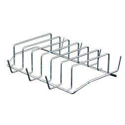 6 RACK GRILL STEEL For Barbeque Rib Oven Smoker Bbq Outdoor