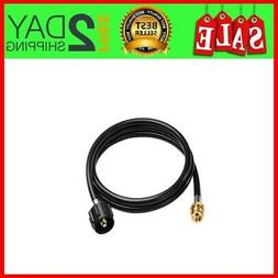 6ft Propane Hose Adapter for Weber Q 1200,1000 Gas Grill, 1
