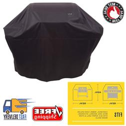 All-Season Grill Cover 3-4 Burner Gas Grills Large Water Res
