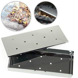 BBQ Coverpro-Barbeque Smoker Box - Stainless Steel Wood Chip