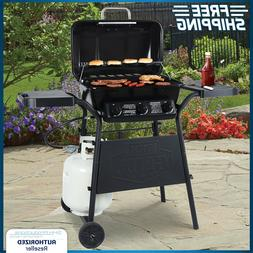 BBQ Gas Grill 3 Burner Outdoor Yard Patio Barbecue Burger Co