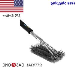 BBQ Grill Brush Stainless Steel Barbecue Cleaner by Gas One