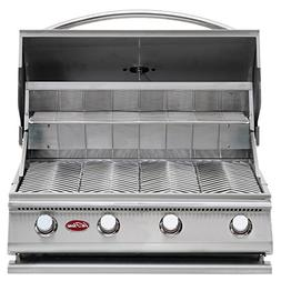 Cal Flame BBQ09G04 Built-In 4-Burner Gas BBQ Grill