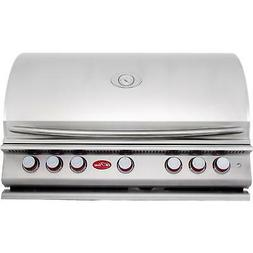 Cal Flame BBQ13P05 BUILT IN GRILL P5 5-BURNER LP,40-inch 304
