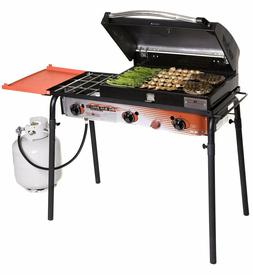 Camp Chef Big Gas Grill - Portable Propane Folding Shelf - 3