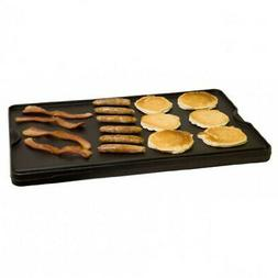 Cast Iron Flat Griddle Grill Camp Pancake Griddles Preseason