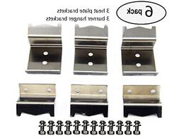 Char-Griller 5050 DUO Grill Replacement Heat Plates Burners