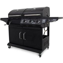 Coal / Gas Grill 3 Burner With Side burner