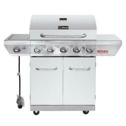 NexGrill Evolution 5-Burner Propane Gas Grill Stainless Stee
