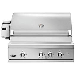 DCS Evolution Built-In Gas Grill with Rotisserie , 36-Inch,