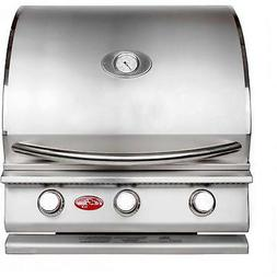 Cal Flame G3 25-Inch 3-Burner Built-In Propane Gas BBQ Grill