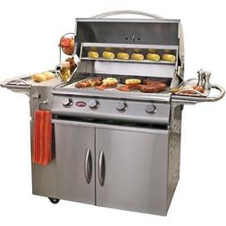 Cal Flame G4 32-Inch 4-Burner Propane Gas BBQ Grill - BBQ08G