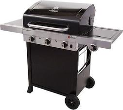 Gas Grill 3 Burner BBQ Backyard Patio Stainless Steel Barbec
