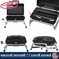 Gas Grill Portable Cooking Tailgating Camp Cook Black 9500-B