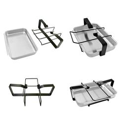 Weber Gas Grill Catch Pan And Holder Porcelain