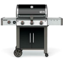 Weber Genesis II LX E-340 Natural Gas Grill With Side Burner