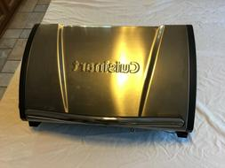 Cuisinart Grillster Portable Gas Grill, Stainless Steel