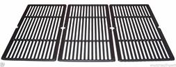 "Amana Gas Grill Cast Coated Set Cooking Grates 23 1/4"" x 17"