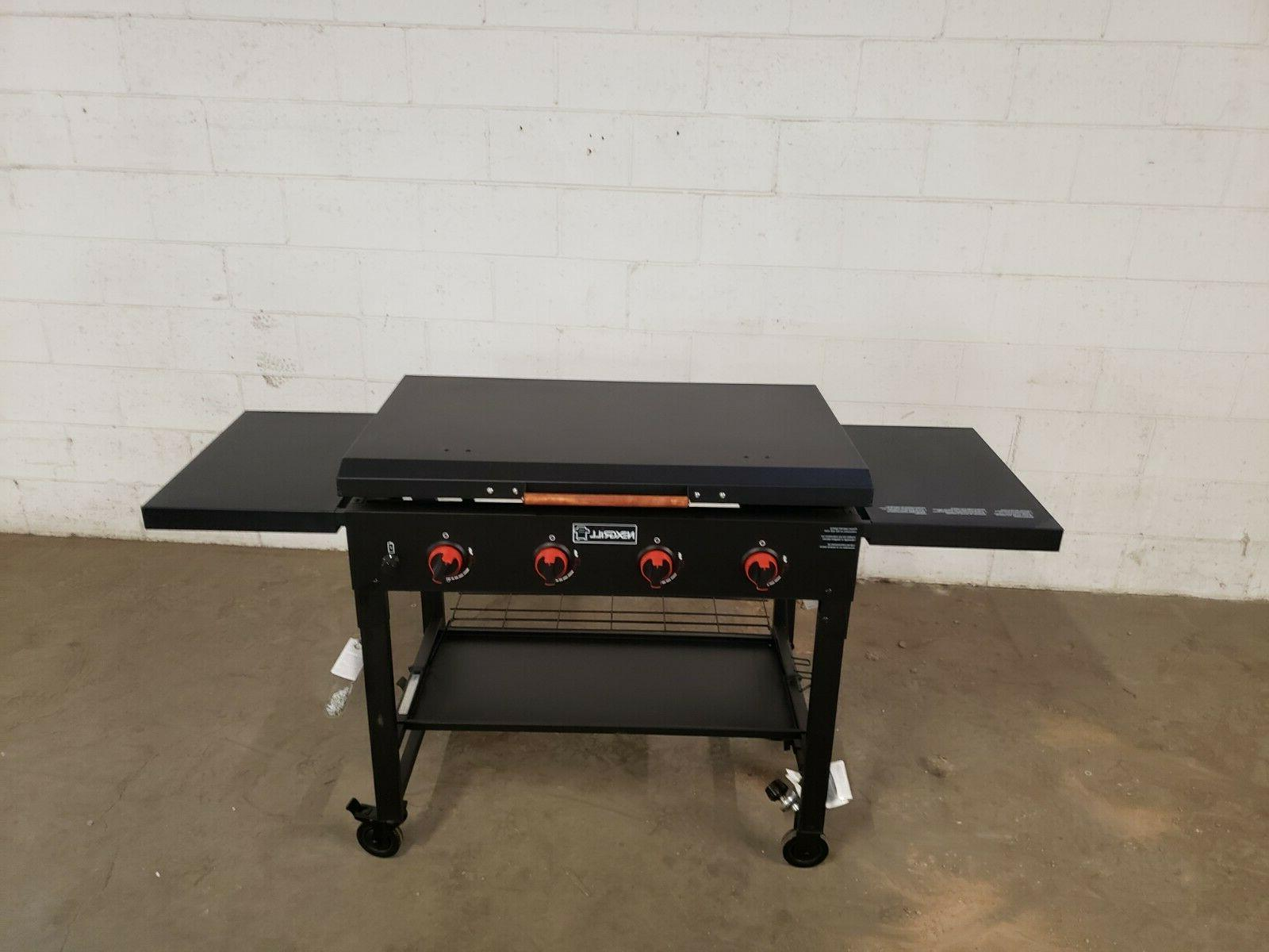 Grill griddle Cover Black ALUMINUM