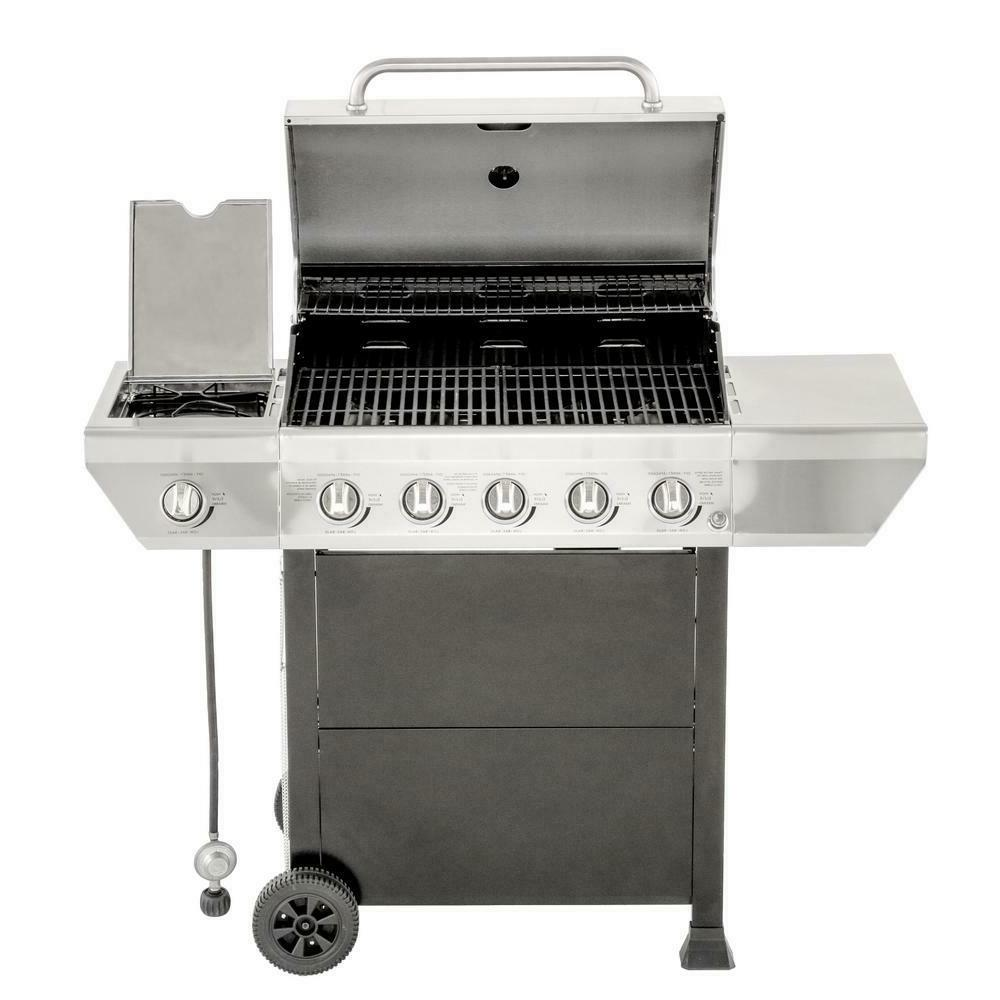 propane gas grill patio stainless steel bbq