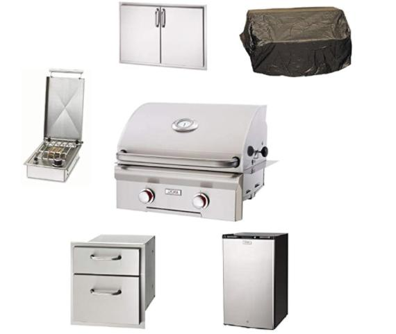 ams fireplace grill package aog 24 built