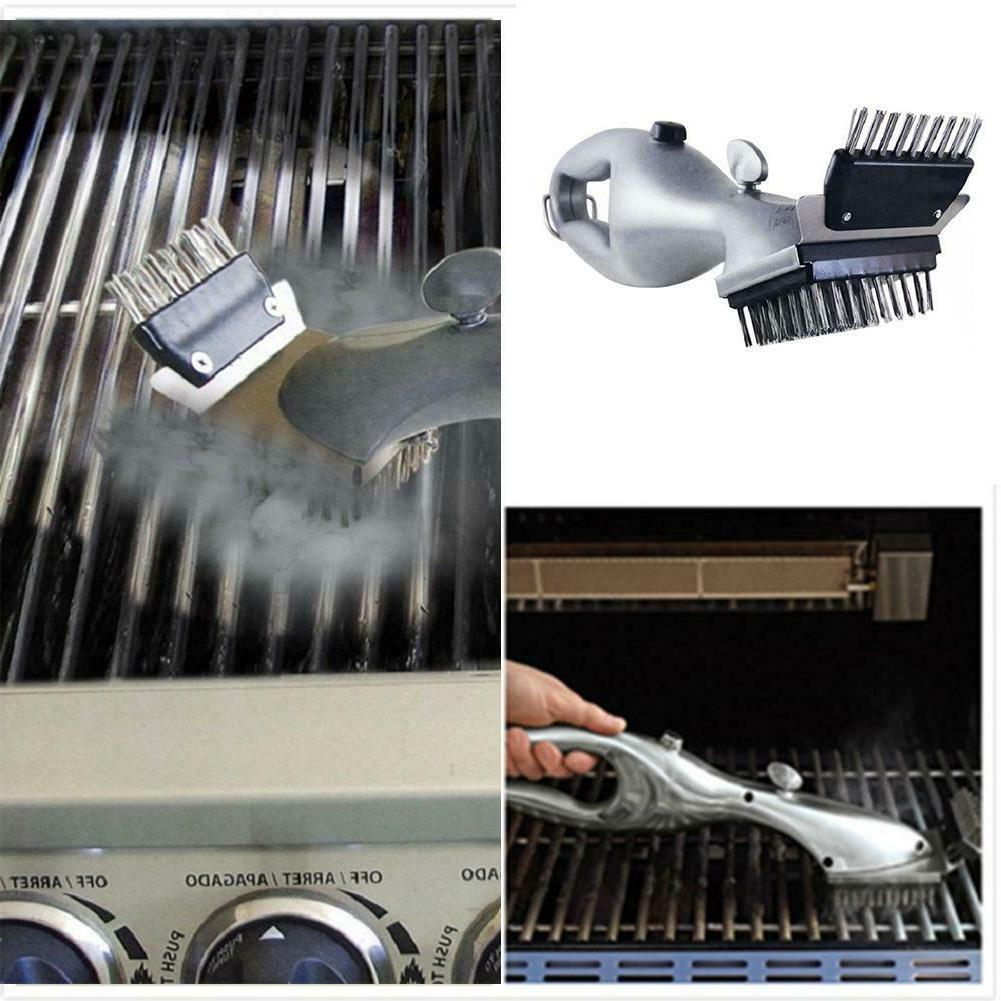 Barbecue Steam Cleaning brush Cleaner Gas Outdoor Accessories
