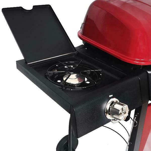 BBQ Grill Propane Side Stainless