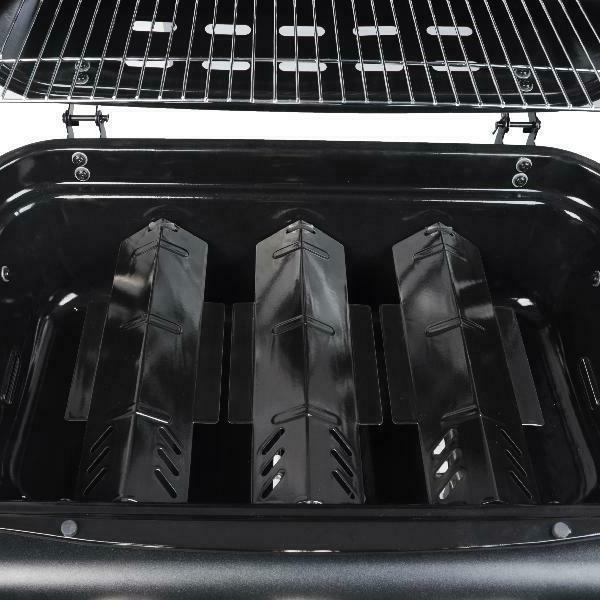 BBQ Propane Side 4-Burner Stainless Outdoor