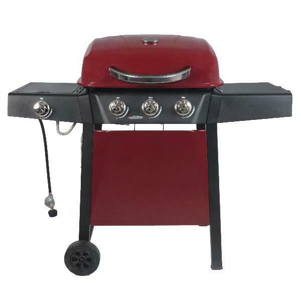 BBQ Gas Grill LP Propane Side Burner Stainless