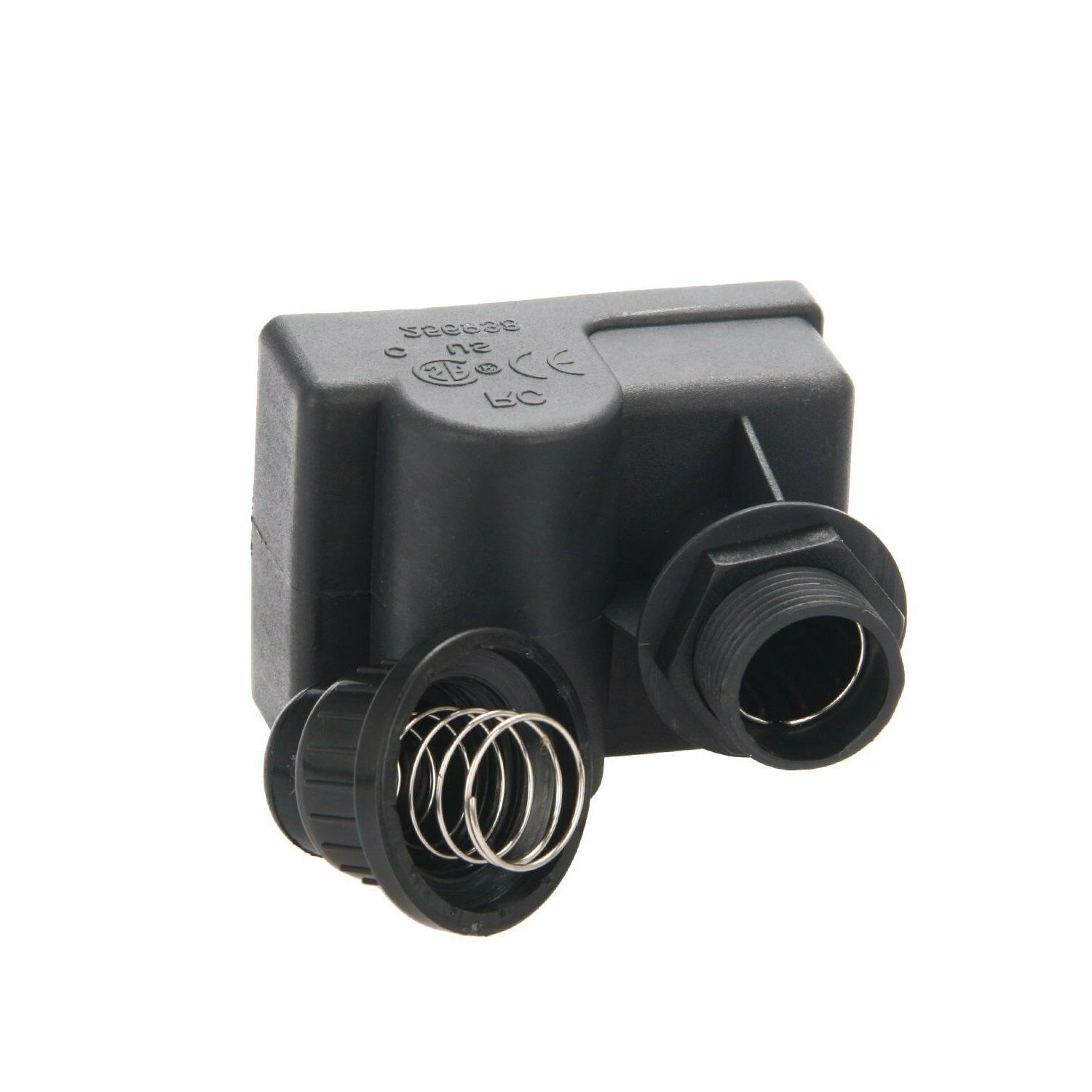 Black 3 Outlet Outdoor Cooking BBQ Gas Grill Push Button MBP