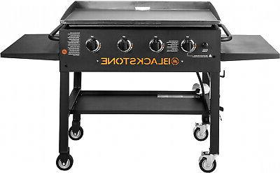Blackstone 36in 4 Burner Gas Griddle Grill Steel Barbecue BBQ Cooking