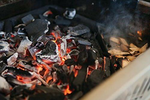 Cast Charcoal Smoker Tray Outdoor Gas Burner