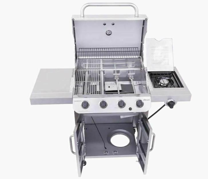 Char-Broil Liquid Propane Gas with 1 Side