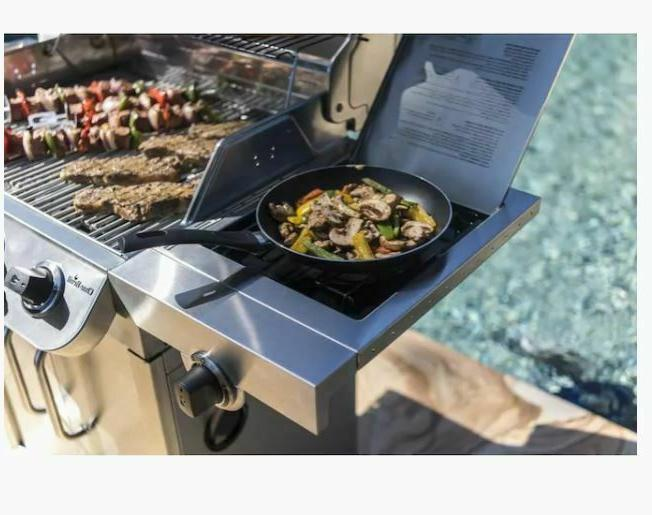 Char-Broil Liquid Propane Grill with Side B