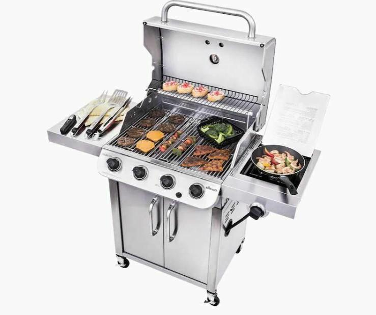 Liquid Propane Grill with 1 Side