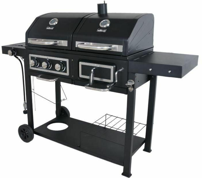 Charcoal Fuel Combination Cooking Burner Family