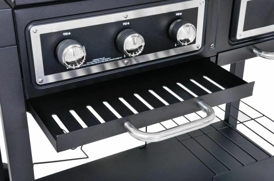 Charcoal Gas Fuel Cooking Burner Family Large