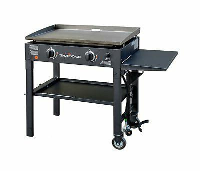 cooking gas grill griddle station