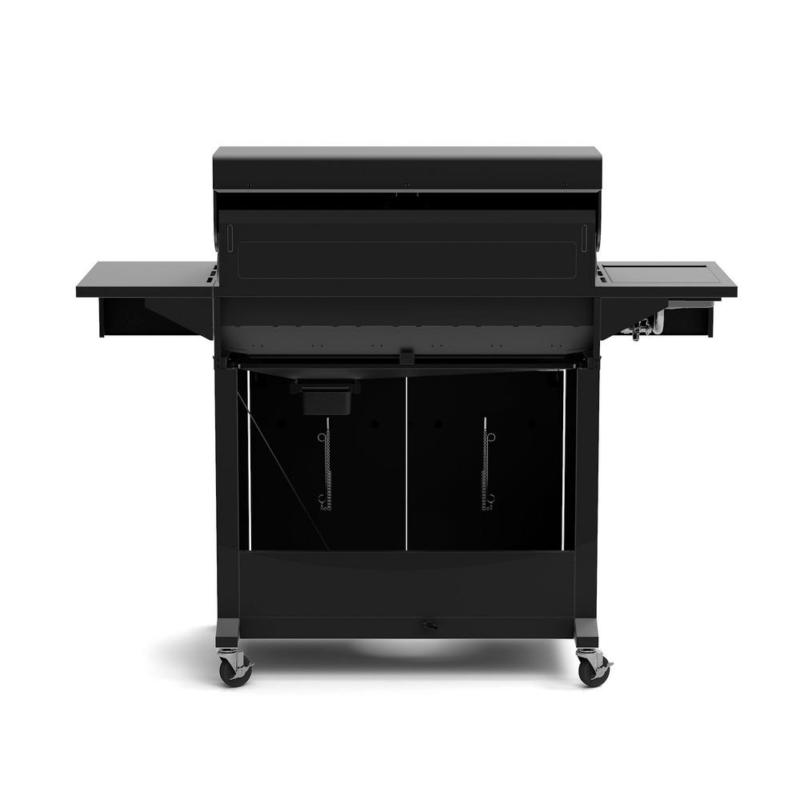 Deluxe 6-Burner Propane Gas Grill Side